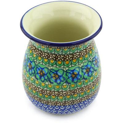 Polish Pottery 5-inch Vase | Boleslawiec Stoneware | Polmedia H3771G