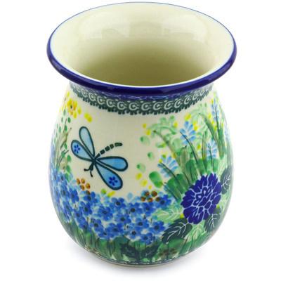 Polish Pottery 5-inch Vase | Boleslawiec Stoneware | Polmedia H3481G