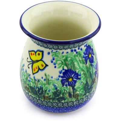 Polish Pottery 5-inch Vase | Boleslawiec Stoneware | Polmedia H4521G