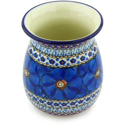 Polish Pottery 5-inch Vase | Boleslawiec Stoneware | Polmedia H4172G