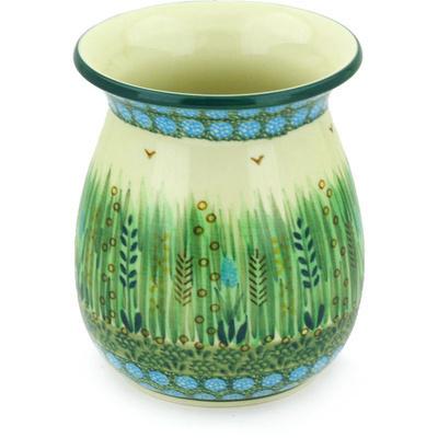 Polish Pottery 5-inch Vase | Boleslawiec Stoneware | Polmedia H6831G