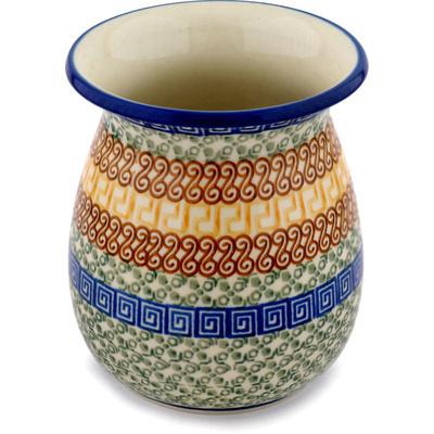 Polish Pottery 5-inch Vase | Boleslawiec Stoneware | Polmedia H0025D
