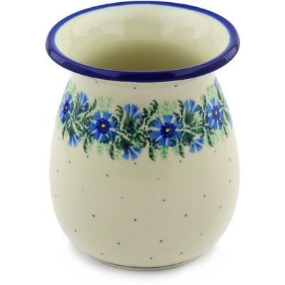 Polish Pottery 5-inch Vase | Boleslawiec Stoneware | Polmedia H4029F