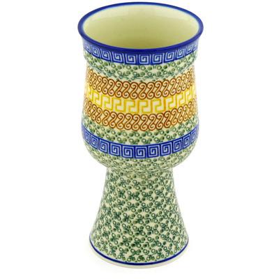 Polish Pottery 8-inch Vase | Boleslawiec Stoneware | Polmedia H1773D
