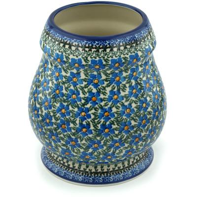 Polish Pottery 9-inch Vase | Boleslawiec Stoneware | Polmedia H8266F