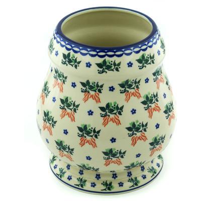 Polish Pottery 9-inch Vase | Boleslawiec Stoneware | Polmedia H6425H