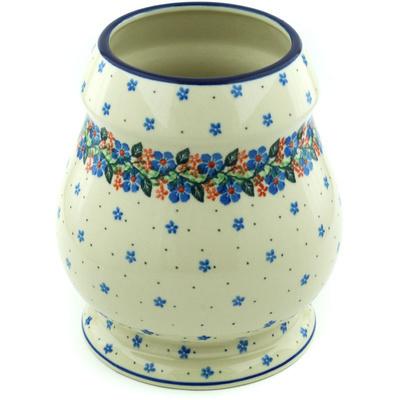 Polish Pottery 9-inch Vase | Boleslawiec Stoneware | Polmedia H6318H