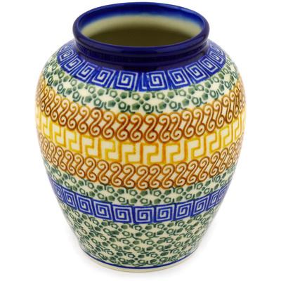 Polish Pottery 5-inch Vase | Boleslawiec Stoneware | Polmedia H1788D