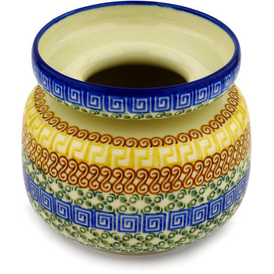 Polish Pottery 5-inch Vase | Boleslawiec Stoneware | Polmedia H0158D