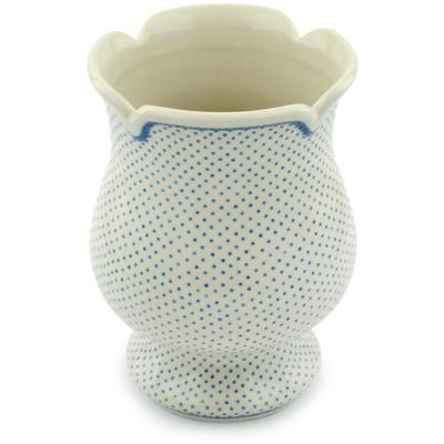 Polish Pottery 7-inch Vase | Boleslawiec Stoneware | Polmedia H0037B