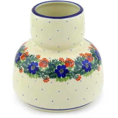 Polish Pottery 5-inch Vase | Boleslawiec Stoneware | Polmedia H4347F