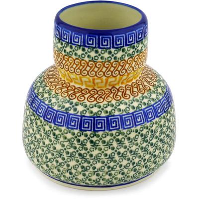 Polish Pottery 5-inch Vase | Boleslawiec Stoneware | Polmedia H1624D
