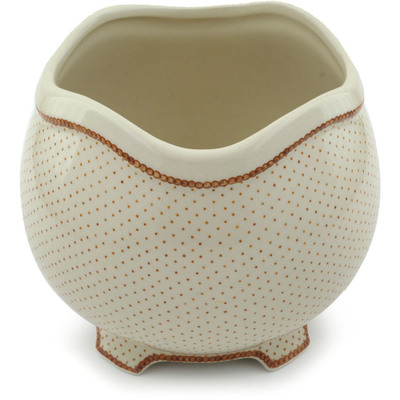 Polish Pottery 7-inch Vase | Boleslawiec Stoneware | Polmedia H0029B