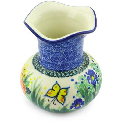 Polish Pottery 7-inch Vase | Boleslawiec Stoneware | Polmedia H5616G