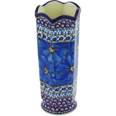 Polish Pottery 7-inch Vase | Boleslawiec Stoneware | Polmedia H5726G