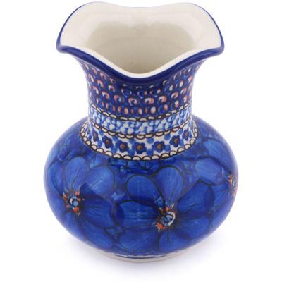 Polish Pottery 5-inch Vase | Boleslawiec Stoneware | Polmedia H5766G