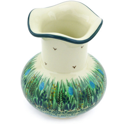Polish Pottery 5-inch Vase   Boleslawiec Stoneware   Polmedia H5912G