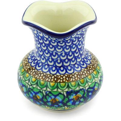 Polish Pottery 4-inch Vase | Boleslawiec Stoneware | Polmedia H6190G