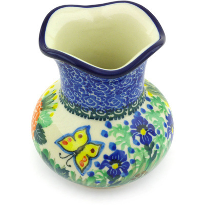 Polish Pottery 4-inch Vase | Boleslawiec Stoneware | Polmedia H5352G