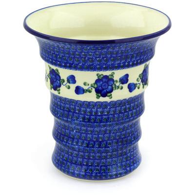 Polish Pottery 9-inch Vase | Boleslawiec Stoneware | Polmedia H5604G