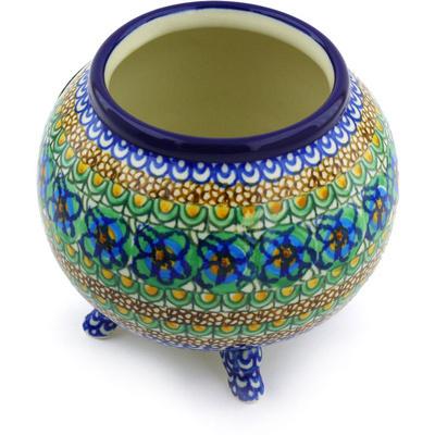 Polish Pottery 5-inch Vase | Boleslawiec Stoneware | Polmedia H3694G