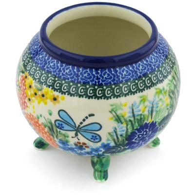 Polish Pottery 5-inch Vase | Boleslawiec Stoneware | Polmedia H8740G