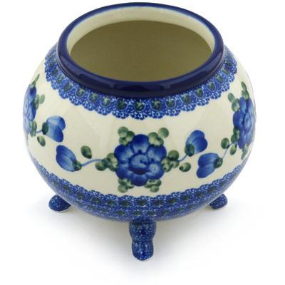 Polish Pottery 5-inch Vase | Boleslawiec Stoneware | Polmedia H9389G