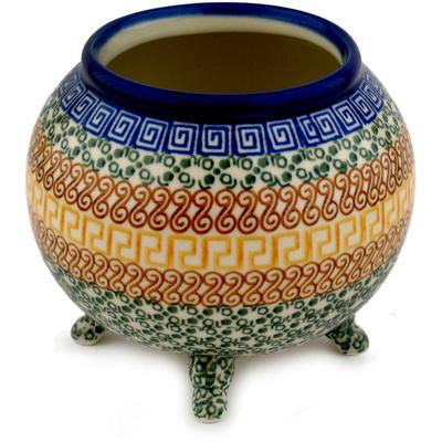 Polish Pottery 5-inch Vase | Boleslawiec Stoneware | Polmedia H9326C