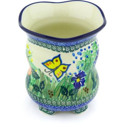 Polish Pottery 6-inch Vase | Boleslawiec Stoneware | Polmedia H4668G