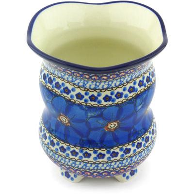 Polish Pottery 6-inch Vase | Boleslawiec Stoneware | Polmedia H6388G