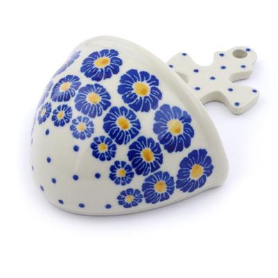 Polish Pottery 5-inch Wall Pocket | Boleslawiec Stoneware | Polmedia H2867J