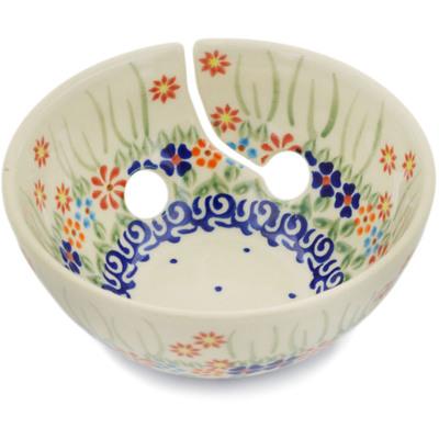 Polish Pottery 6-inch Yarn Bowl   Boleslawiec Stoneware   Polmedia H4063H