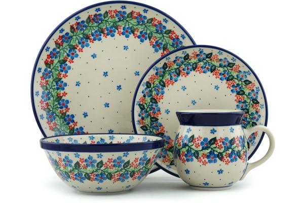 Polish Pottery Place Setting by Ceramika Artystyczna