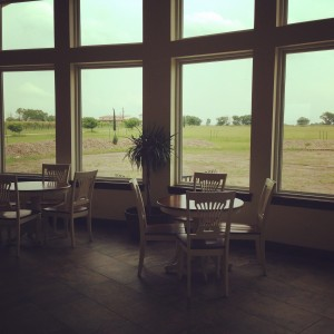 Tasting room at blue lotus winery