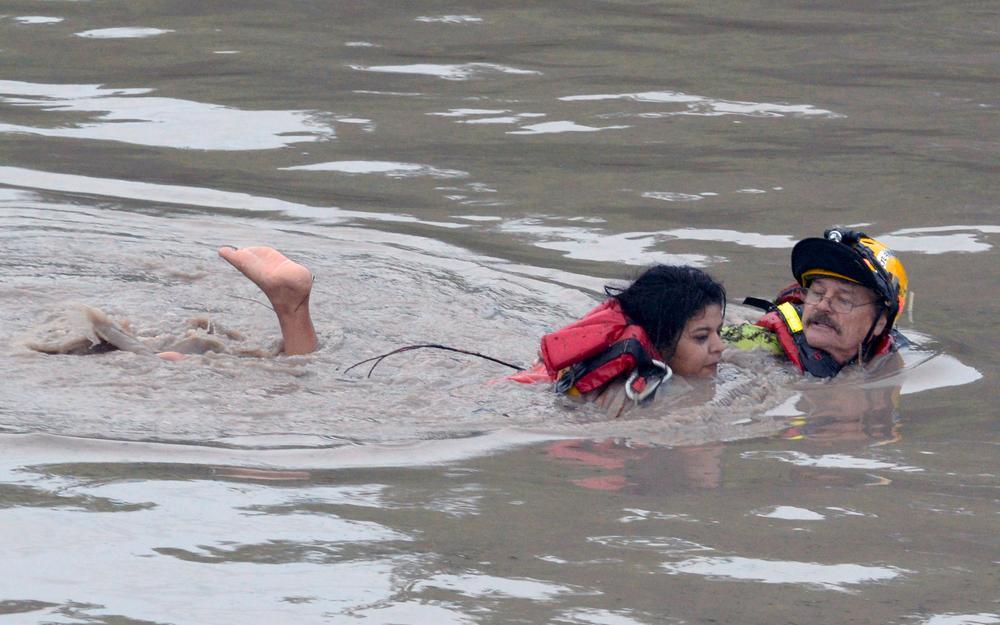 San Marcos Flood 2015
