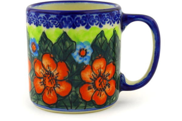 Stoenware Coffee Mug by Polmedia Polish Pottery
