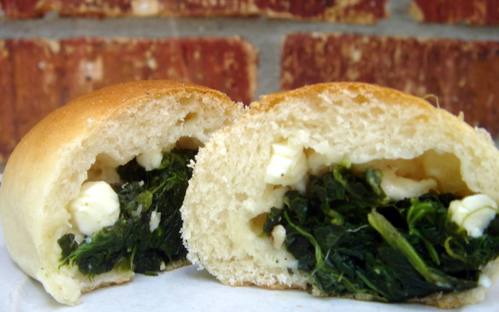Spinach and Feta Kolache
