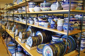 Polmedia Polish Pottery's Retail Store is Located in Seguin, Texas