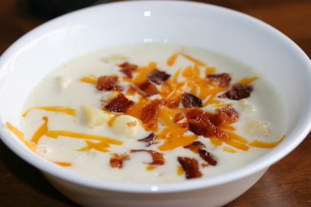 Polish Cheesy Potato Soup Recipe