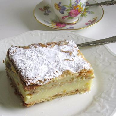 Polish Papal Cream Cake Recipe