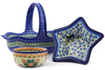 Polish Pottery Bowls & Baskets