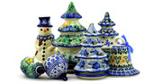 Polish Pottery Christmas