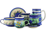 Polish Pottery Cups & Mugs