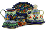 Polish Pottery Serving Dishes