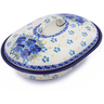 10-inch Stoneware Baker with Cover - Polmedia Polish Pottery H2478J