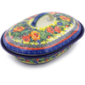 10-inch Stoneware Baker with Cover - Polmedia Polish Pottery H5474I