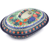 10-inch Stoneware Baker with Cover - Polmedia Polish Pottery H5475I