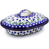 10-inch Stoneware Baker with Cover - Polmedia Polish Pottery H8257B