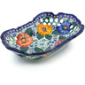 10-inch Stoneware Bowl with Holes - Polmedia Polish Pottery H5206J