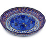 10-inch Stoneware Chip and Dip Platter - Polmedia Polish Pottery H4487G